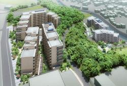 【(仮称)コーシャハイム大蔵(第1期 )】JKK東京の新築。募集に向け建設中。